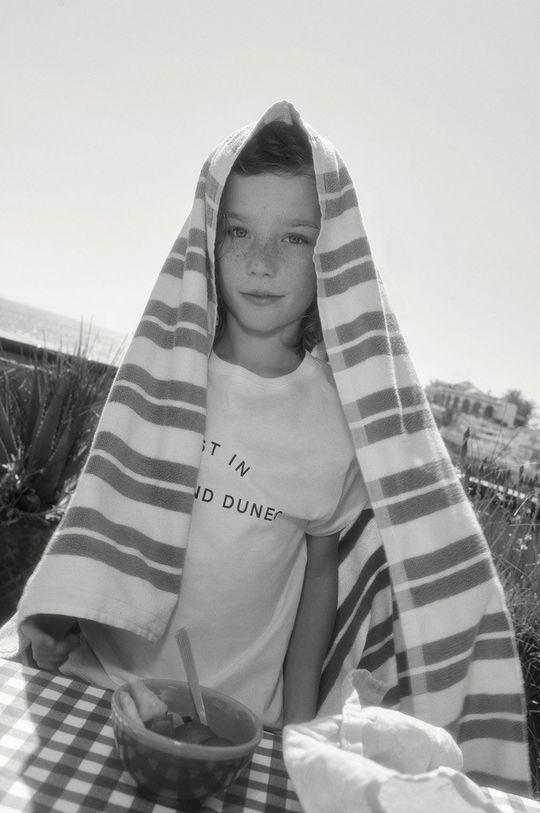 Mango Kids - T-shirt dziecięcy Sand 116-164 cm 100 % Bawełna organiczna