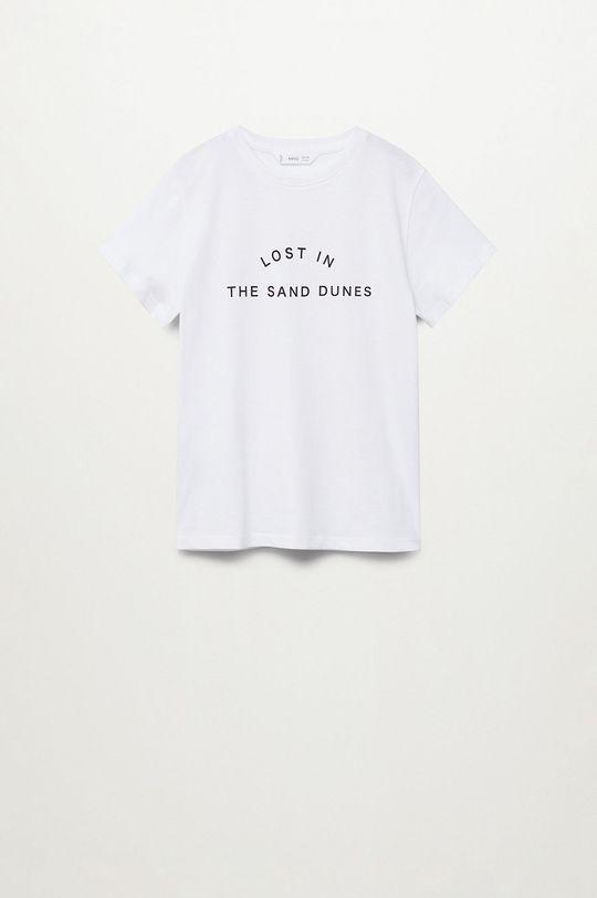 Mango Kids - T-shirt dziecięcy Sand 116-164 cm Chłopięcy