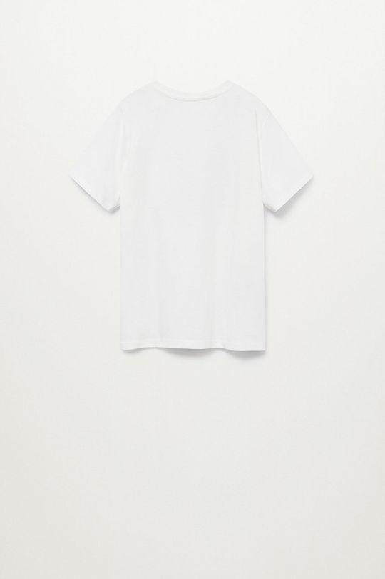 Mango Kids - T-shirt dziecięcy Waves 110-152 cm 100 % Bawełna organiczna