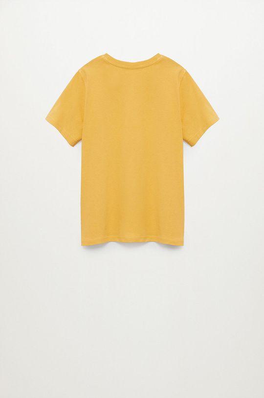 Mango Kids - Detské tričko Waves 110-152 cm  100% Organická bavlna