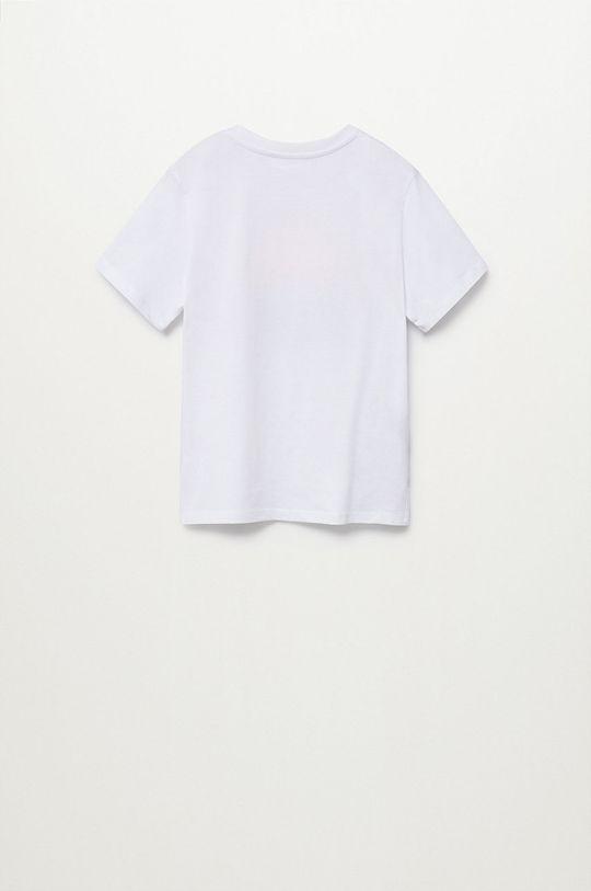 Mango Kids - T-shirt dziecięcy FLO 100 % Bawełna