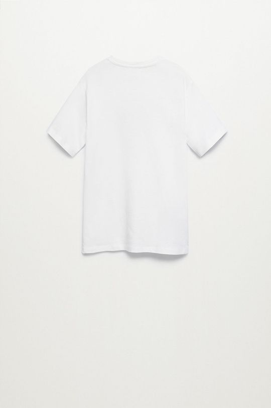 Mango Kids - T-shirt dziecięcy LENTI 100 % Bawełna organiczna