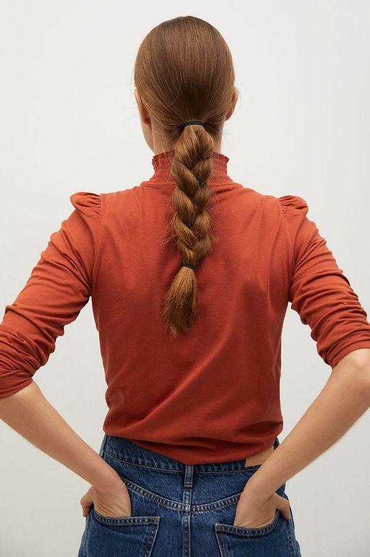 Mango - Tričko s dlouhým rukávem VICKY  Hlavní materiál: 100% Organická bavlna