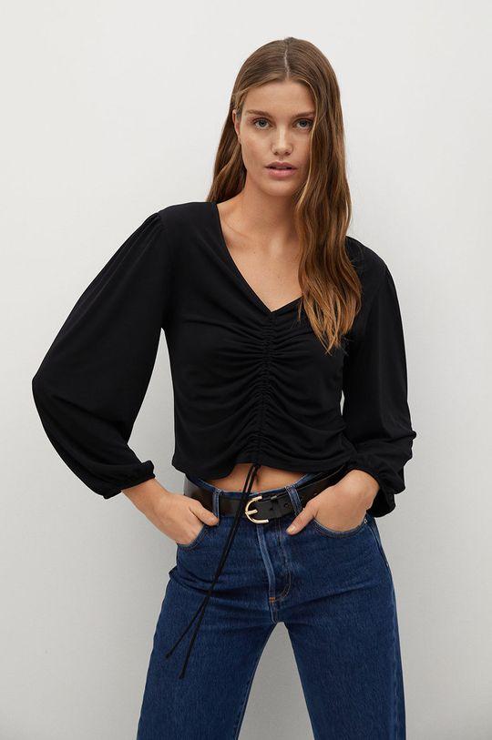 negru Mango - Bluza TIZA De femei