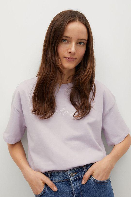 fioletowy Mango - T-shirt Pstbig Damski