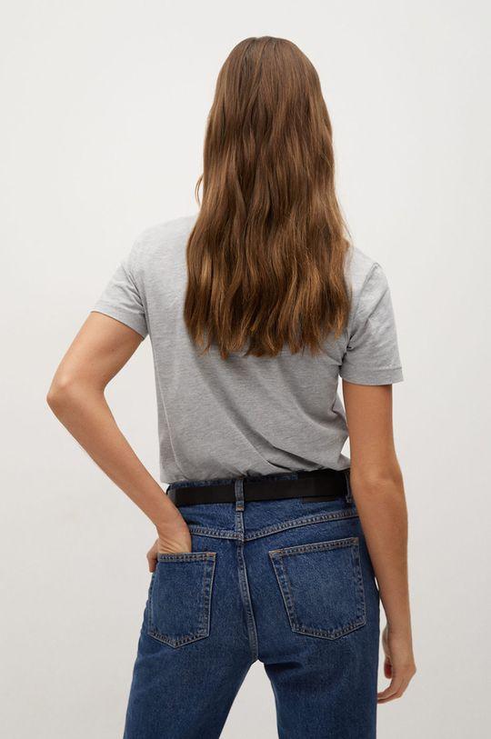 Mango - T-shirt Chalapi 100 % Bawełna organiczna