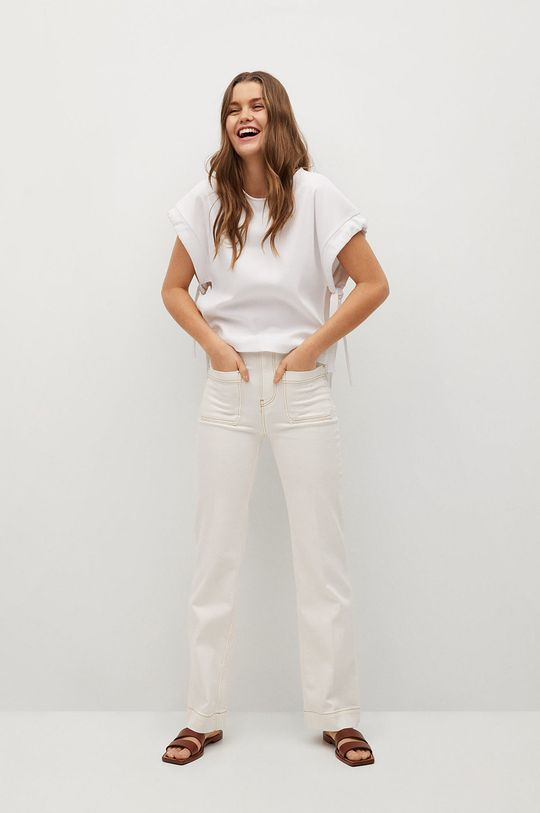 Mango - Tričko HUBO  68% Bavlna, 32% Polyester