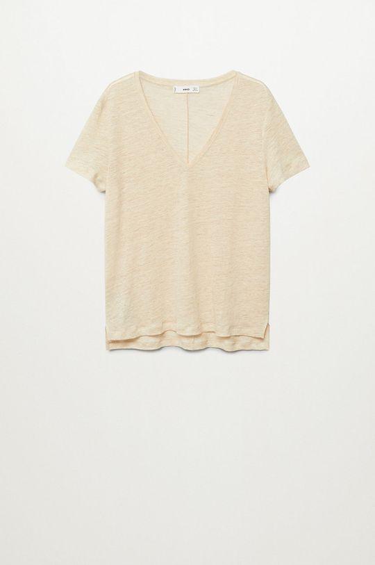 Mango - T-shirt Linito
