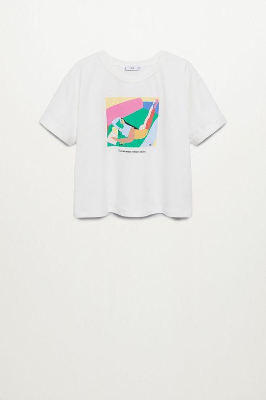 Mango - T-shirt Pswoman3