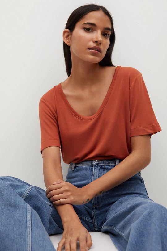 pomarańczowy Mango - T-shirt Visca