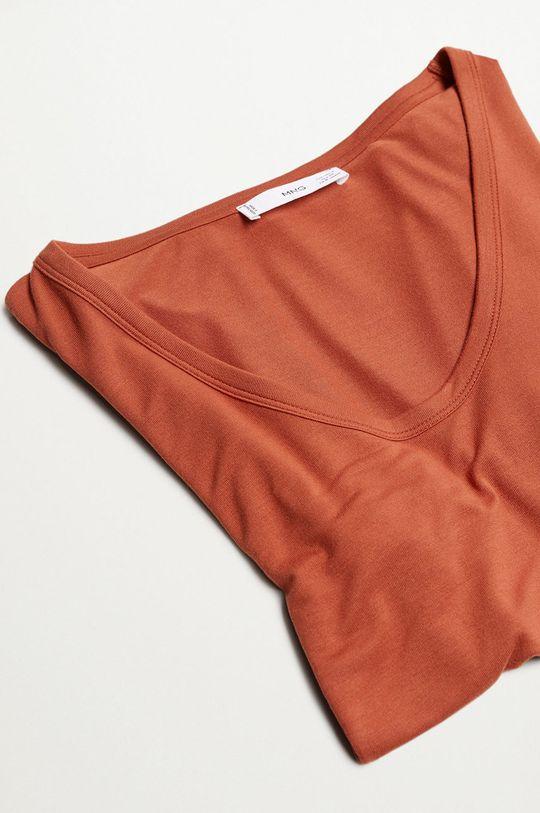 Mango - T-shirt Visca Damski