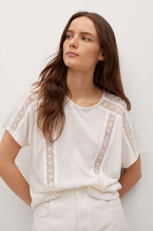 pszeniczny Mango - T-shirt Furni Damski