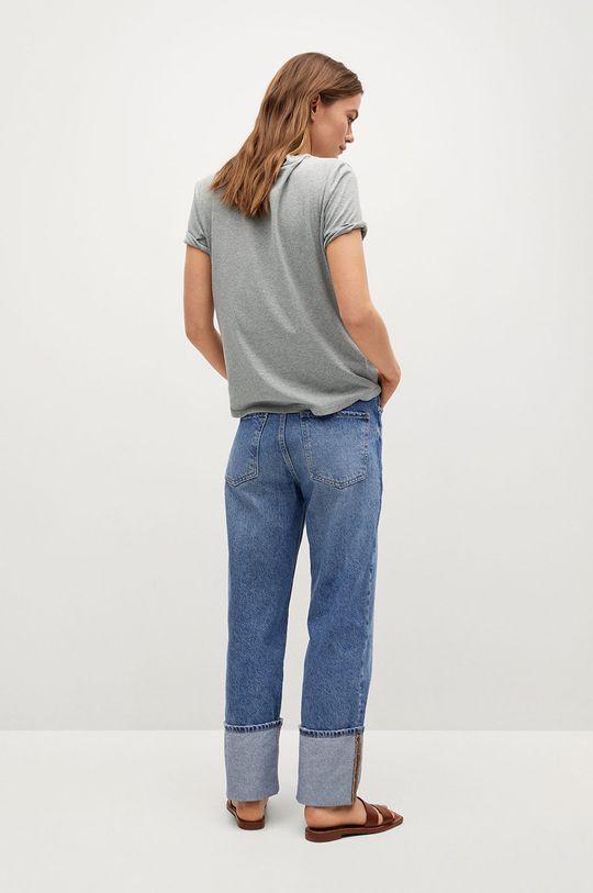 Mango - Tričko Pstbla  50% Recyklovaný polyester, 50% Recyklovaná bavlna