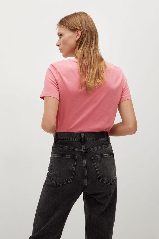 Mango - T-shirt Psmate 100 % Bawełna organiczna