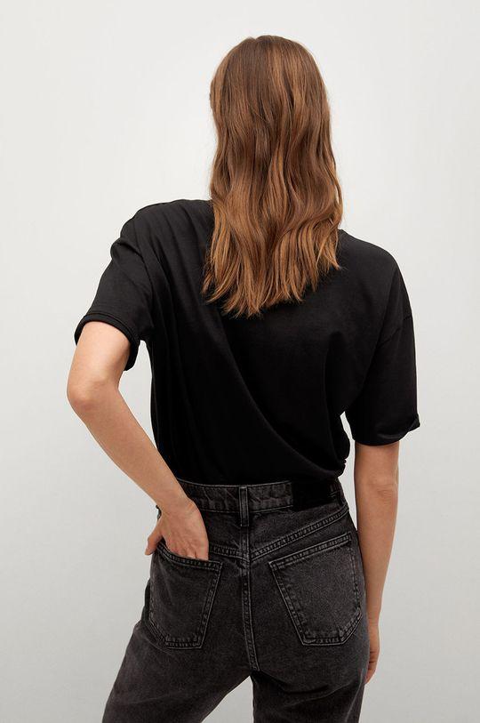 Mango - T-shirt Pstcity 100 % Bawełna organiczna