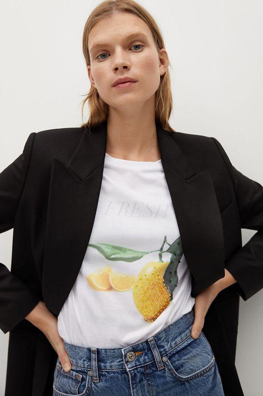 Mango - T-shirt PSEXOTIC Damski