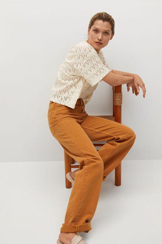 béžová Mango - Tričko FRANCIS