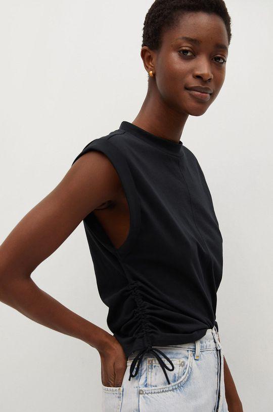 czarny Mango - T-shirt ARIANA
