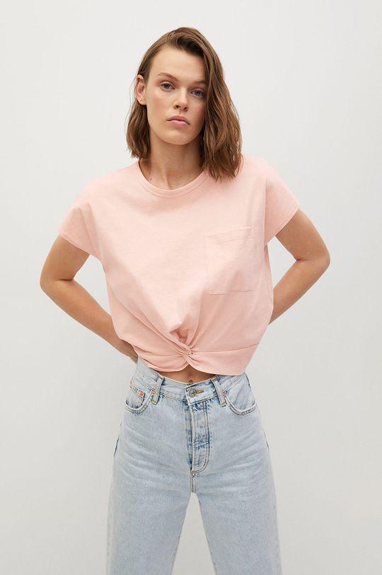 ružová Mango - Tričko NOT Dámsky