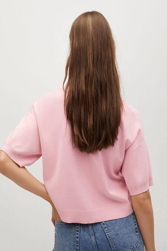 Mango - Polo tričko NURIET  37% Polyester, 63% Viskóza
