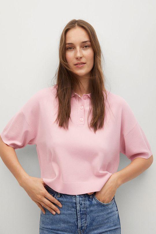 ružová Mango - Polo tričko NURIET