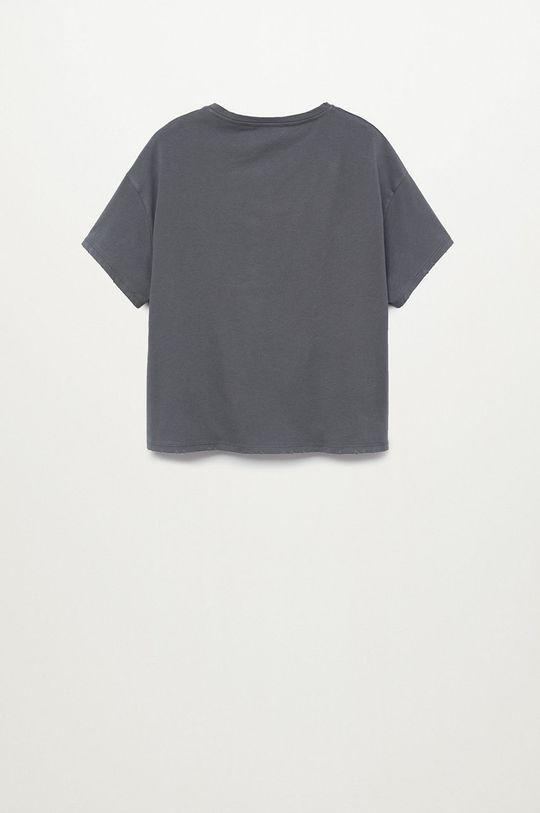 Mango Kids - T-shirt dziecięcy CATE szary