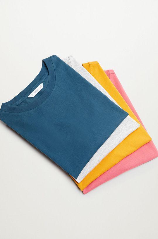 sivá Mango Kids - Detské tričko ROLL Dievčenský