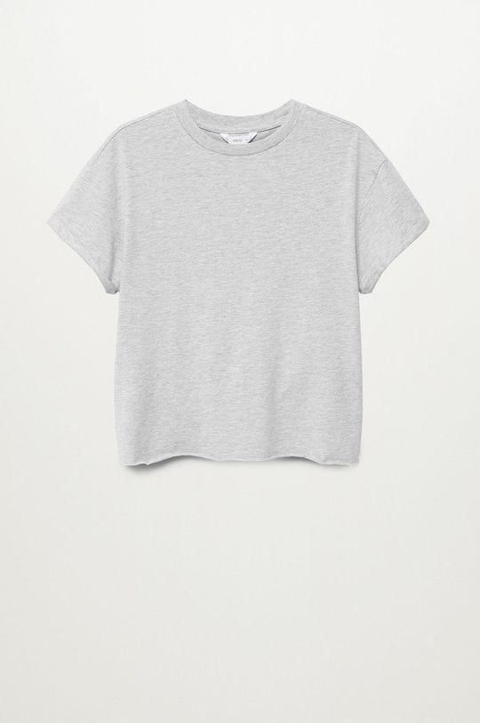 Mango Kids - Detské tričko ROLL sivá