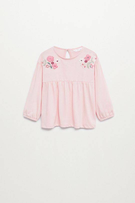 ružová Mango Kids - Detská blúzka ELI Dievčenský