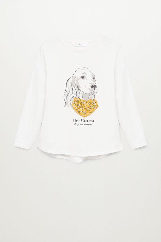 Mango Kids - Detské tričko s dlhým rukávom BROOK  100% Bavlna