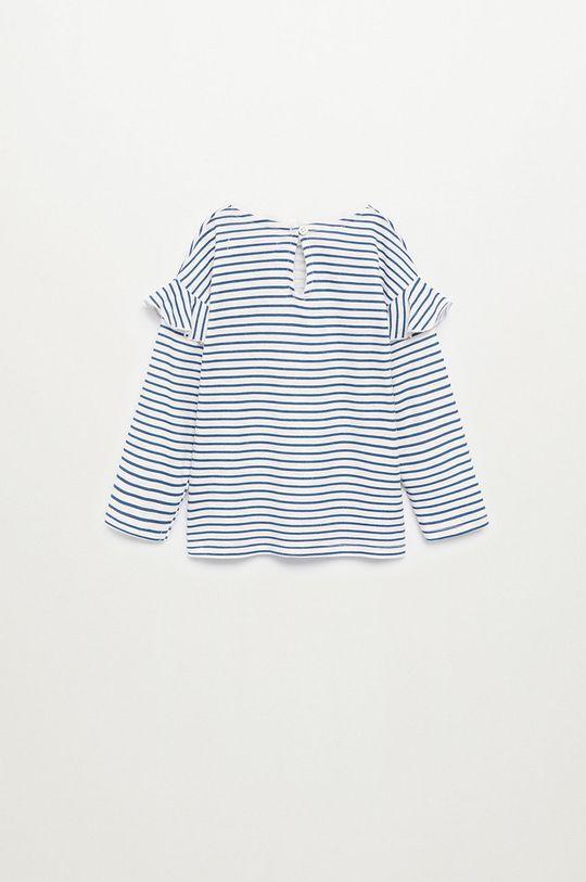 modrá Mango Kids - Detské tričko s dlhým rukávom OLIVIA