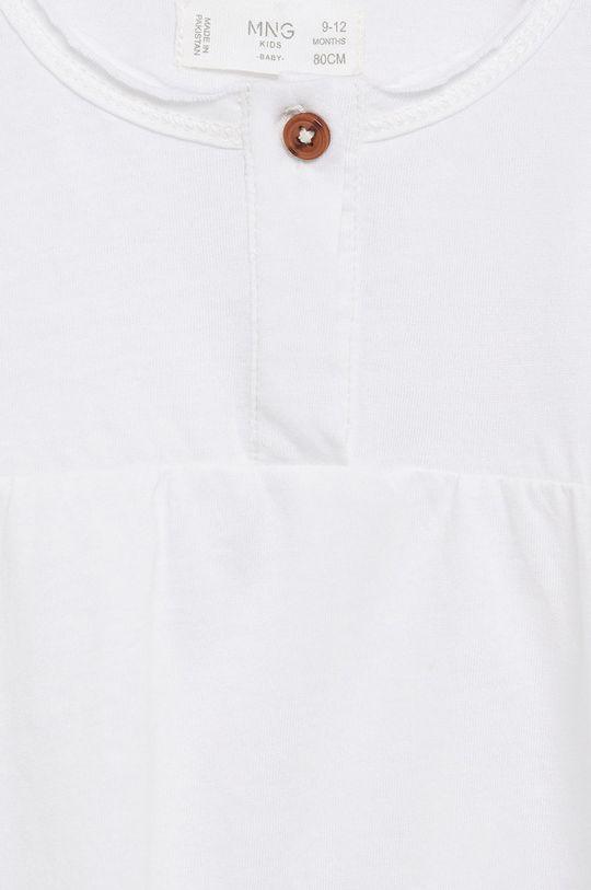 biały Mango Kids - Bluzka dziecięca Brillo7 80-104 cm