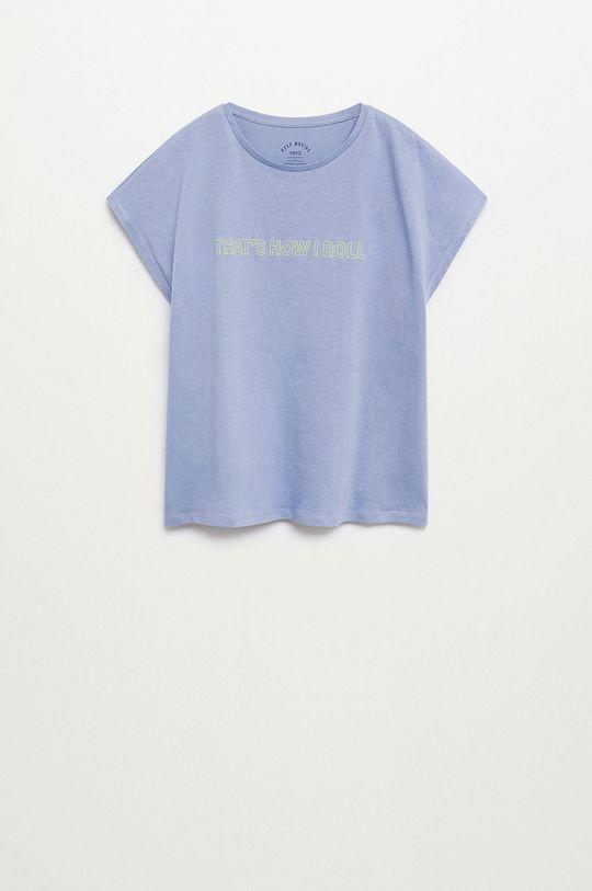 modrá Mango Kids - Dětské tričko SPORT Dívčí