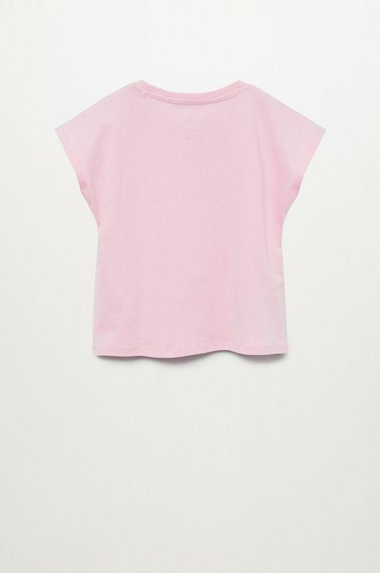 růžová Mango Kids - Dětské tričko AHEAD