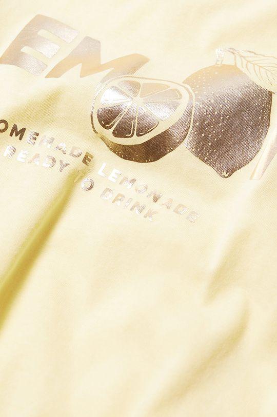 Mango Kids - Dětské tričko WORDS  100% Organická bavlna