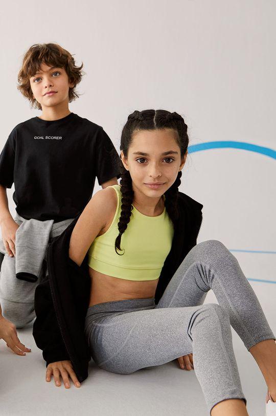 Mango Kids - Dětská sportovní podprsenka LETICIA  18% Elastan, 82% Polyester