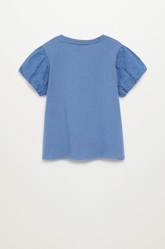 Mango Kids - Dětské tričko PLUME modrá