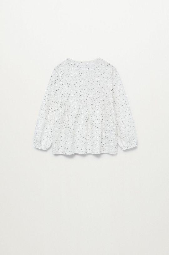biały Mango Kids - Bluzka dziecięca LINAB