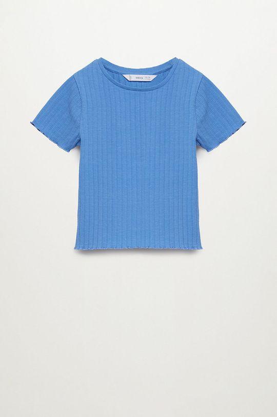 niebieski Mango Kids - T-shirt dziecięcy Jane 116-164 cm Dziewczęcy