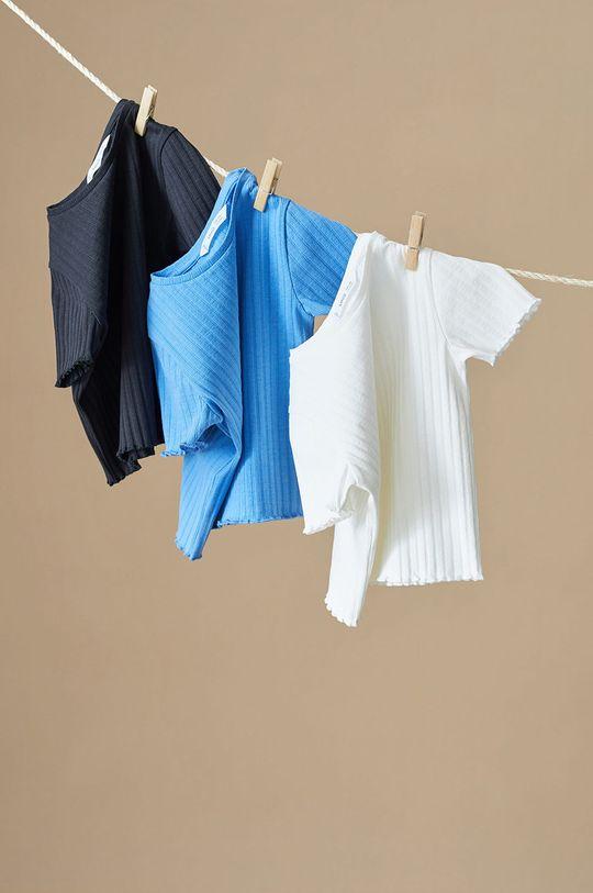 niebieski Mango Kids - T-shirt dziecięcy Jane 116-164 cm