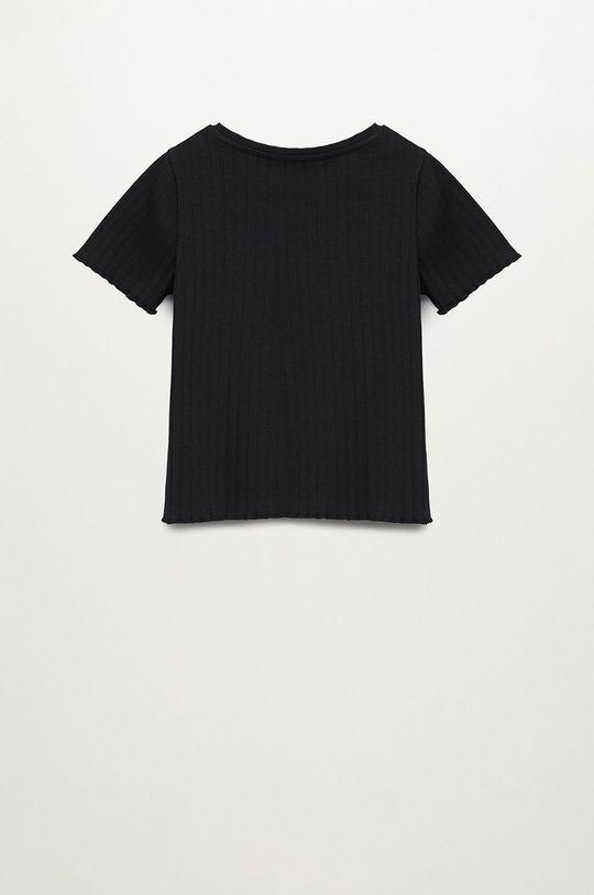 Mango Kids - T-shirt dziecięcy Jane 116-164 cm 95 % Bawełna, 5 % Elastan