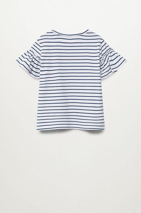 Mango Kids - T-shirt dziecięcy Bande 110-164 cm 100 % Bawełna organiczna