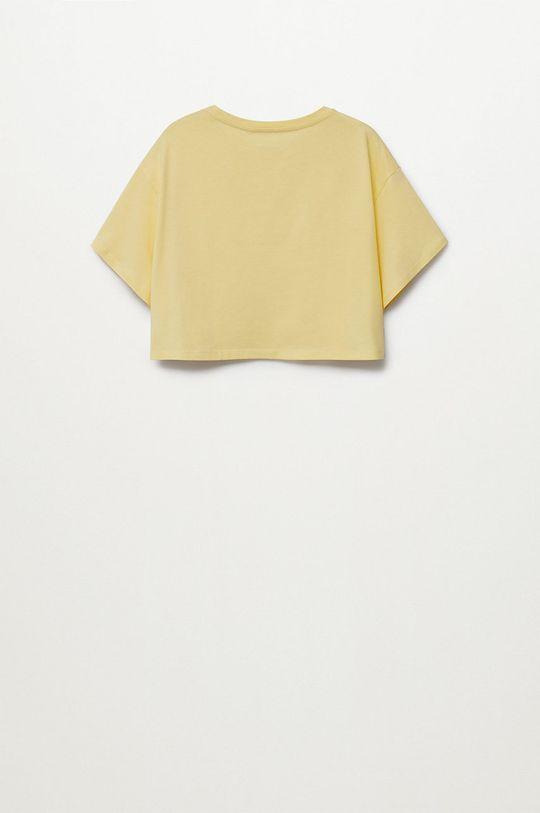 Mango Kids - T-shirt dziecięcy Hero