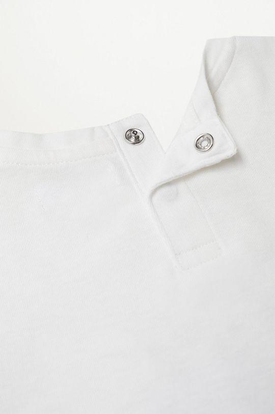bílá Mango Kids - Dětské tričko BIGOTE