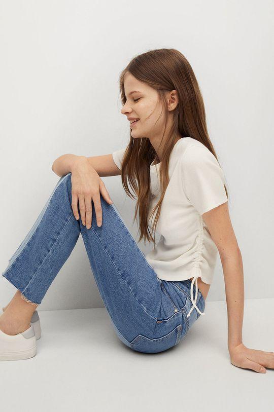 Mango Kids - Detské tričko CLARA  95% Bavlna, 5% Elastan