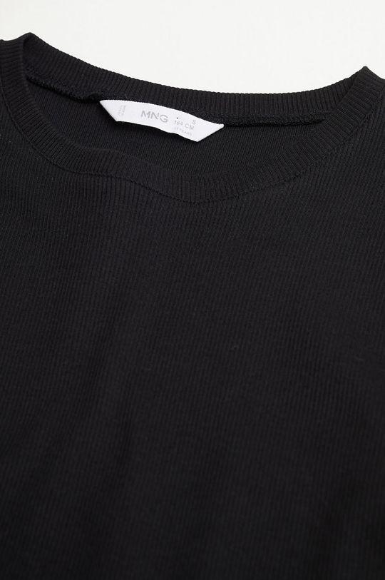 negru Mango Kids - Tricou copii CLARA