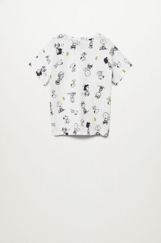 Mango Kids - T-shirt dziecięcy Sfamily-I 116-164 cm 100 % Bawełna organiczna