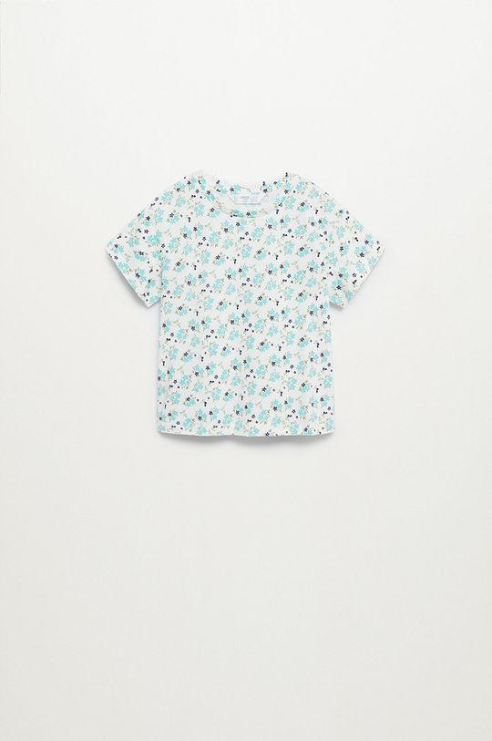 biały Mango Kids - T-shirt dziecięcy Teresa 80-104 cm Dziewczęcy