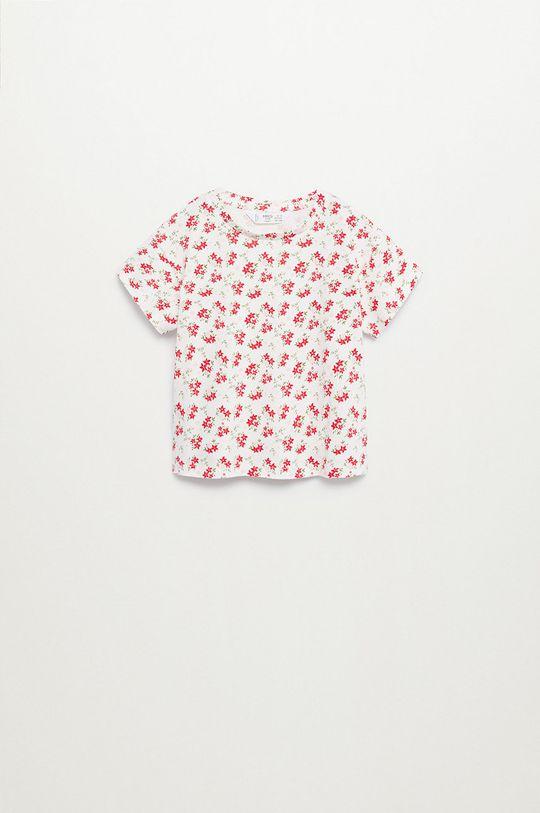 czerwony Mango Kids - T-shirt dziecięcy Teresa 80-104 cm Dziewczęcy