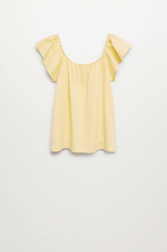 Mango Kids - Detská bavlnená blúzka Geminis 116-164 cm  100% Bavlna